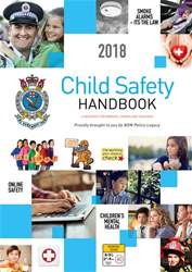 NSW Child Safety Handbook Magazine Cover