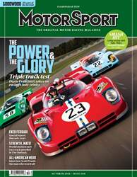 Motor Sport Magazine issue October 2018