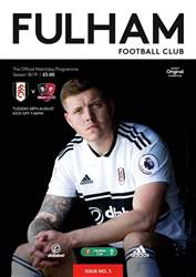 Fulham FC issue Fulham Vs Exeter City 2018/19