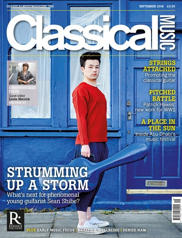 Classical Music issue September 2018
