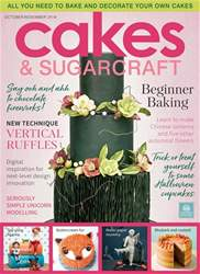 Cakes & Sugarcraft issue October/November 2018