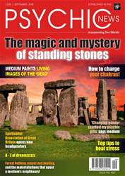 Psychic News issue September 2018