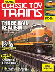 Classic Toy Trains issue Nocember 2018