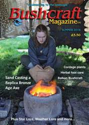 Bushcraft Magazine issue Summer 2018