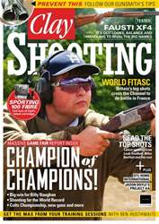 Clay Shooting issue September 2018