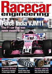 Racecar Engineering issue October 2018