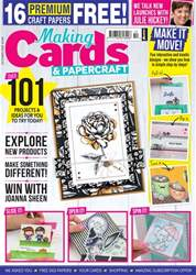 Making Cards & Papercraft issue October 2018