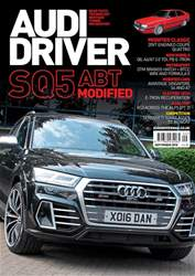 Audi Driver issue September 2018