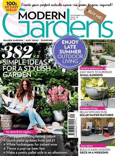 846e0e56686 Modern Gardens Magazine - September 2018 Subscriptions