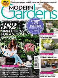 Modern Gardens issue September 2018