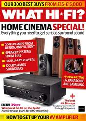 What HiFi issue October 2018