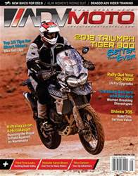 Adventure Motorcycle issue Sept/Oct 2018