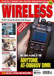 Practical Wireless issue October 2018