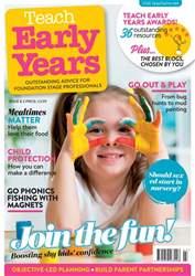 Teach Early Years issue Teach Early Years