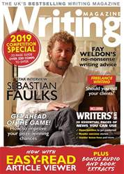 Writing Magazine issue October 2018
