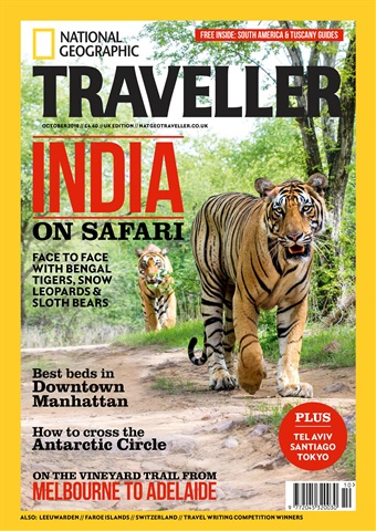 National Geographic Traveller (UK) issue October 2018