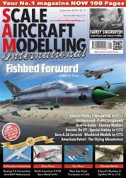 Scale Aircraft Modelling International issue September 2018