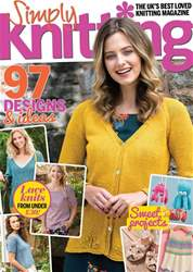 Simply Knitting issue Issue 177