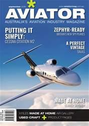 Aviator Magazine Cover