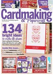 Cardmaking & Papercraft issue October 2018
