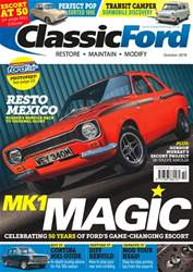 Classic Ford issue October 2018