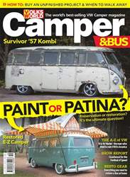 VW Camper issue October 2018