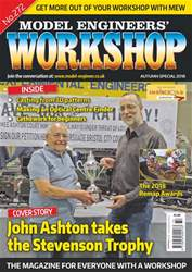 Model Engineers' Workshop Magazine issue Aut- Spec 18