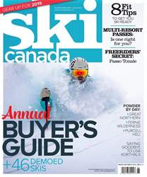 Ski Canada issue Buyer's Guide 2019