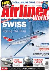 Airliner World Magazine Cover