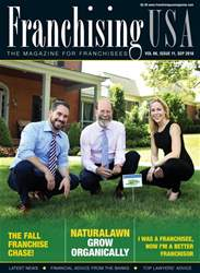 Franchising USA issue September 2018