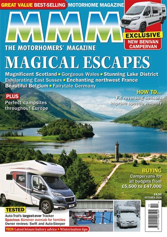 MMM magazine issue The Magical Escapes issue - October 2018