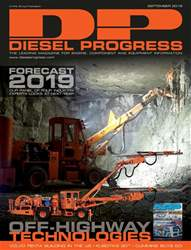 Diesel Progress Magazine Cover