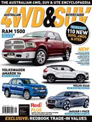 Australian 4WD and SUV Buyers Guide issue Sep Issue#32 2018