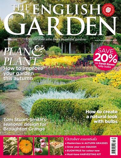 the english garden magazine october 2018 subscriptions pocketmags