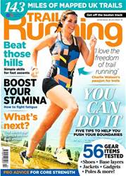 Trail Running Magazine Cover