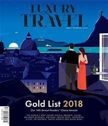 Luxury Travel Magazine Cover