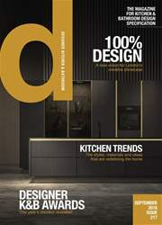 Designer Kitchen & Bathroom issue September 2018