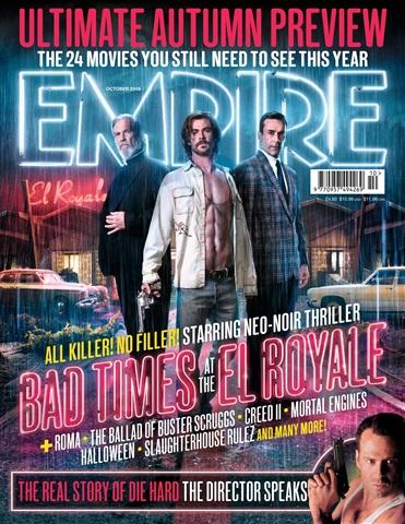 Empire issue October 2018