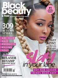 Black Beauty & Hair – the UK's No. 1 black magazine issue Black Beauty & Hair October/November 2018