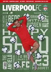 Liverpool FC Magazine issue Oct-18
