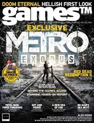 games (TM) Magazine Cover