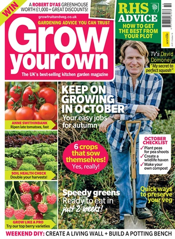Grow Your Own issue Oct-18