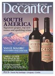 Decanter issue October 2018
