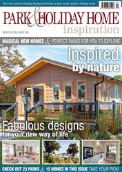 Park and Holiday Home Inspiration magazine issue Winter 2018