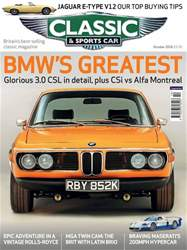 Classic & Sports Car issue October 2018
