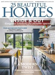 25 Beautiful Homes issue October 2018