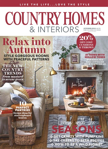 Country Homes & Interiors Magazine - October 2018 Subscriptions ...