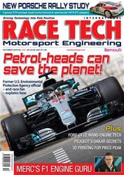 Race Tech Issue 215 October 2018 issue Race Tech Issue 215 October 2018