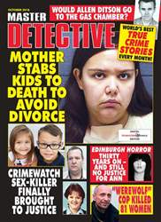 Master Detective October 2018 issue Master Detective October 2018
