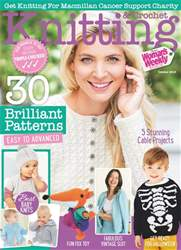 Knitting & Crochet issue October 2018